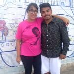Geisa e Carlos, colaboradores Rede
